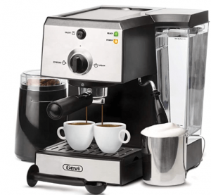 Latte Machine With Milk Frother